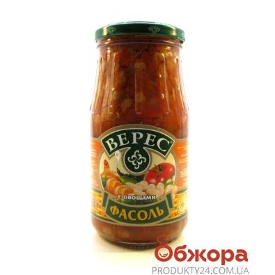 Консерва Верес Фасоль с овощами 530 гр. – ИМ «Обжора»