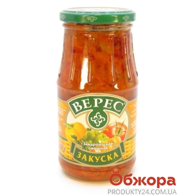 Конс. Верес 500г закуска Закарпатская – ИМ «Обжора»