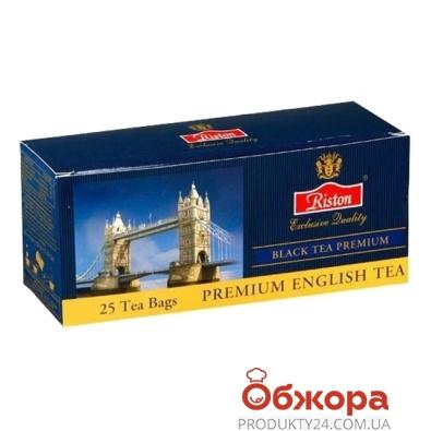 Чай Ристон (Riston) Цейлон Премиум 25 п – ИМ «Обжора»