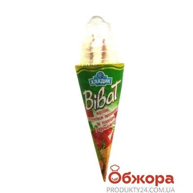 Мороженое Хладик Виват клубника 140 г – ИМ «Обжора»