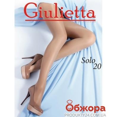 Колготки Джульетта (GIULIETTA) solo 20 nero 3 – ИМ «Обжора»