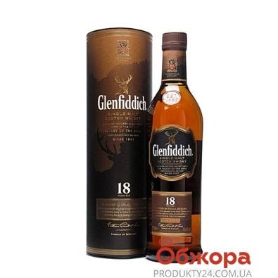 Виски Гленфиддик (Glenfiddich) 18лет 0,7 л – ИМ «Обжора»