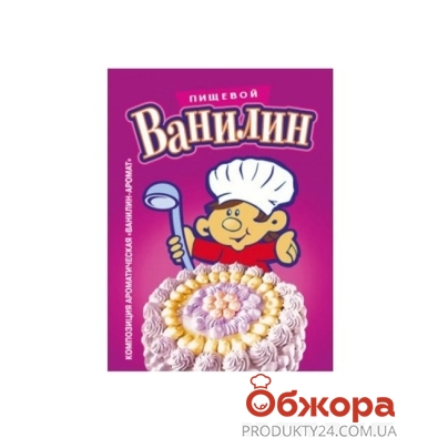 Ванилин пищевой Деко 2 г – ИМ «Обжора»