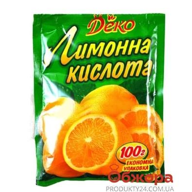 Лимонная кислота Деко 20 г – ИМ «Обжора»