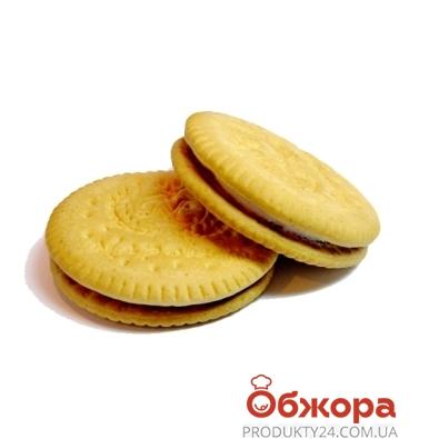 Печенье Грона (Grona) наполеон сендвич шоколад вес. – ИМ «Обжора»