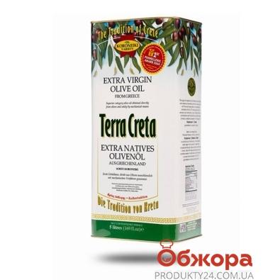 Оливковое масло Терра Крета (Terra Creta) Extra Virgen 1 л – ИМ «Обжора»
