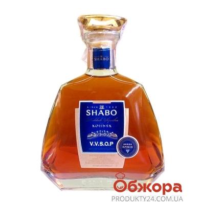 Коньяк Украины Шабо (Shabo) 5* VVSOP 0,5 л – ИМ «Обжора»