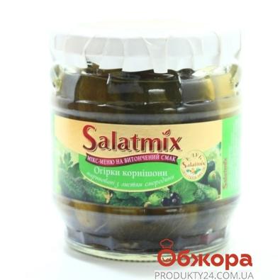 Огурцы СалатМикс с листьями смородины 360 г – ИМ «Обжора»