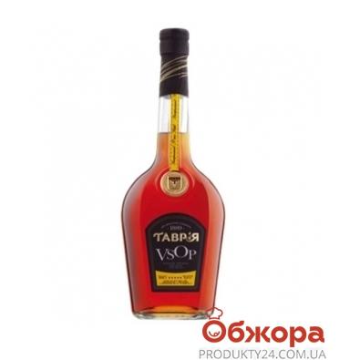Коньяк Таврия VSOP 42% 0.5 л – ИМ «Обжора»