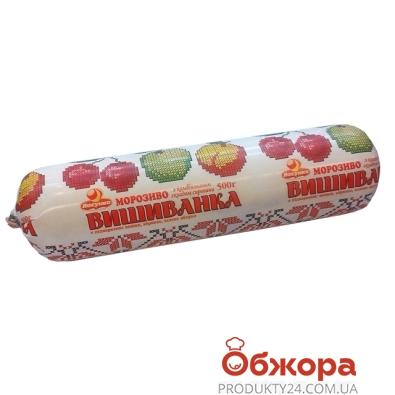 Мороженое Ласунка Вышиванка 0,5 кг белое – ИМ «Обжора»