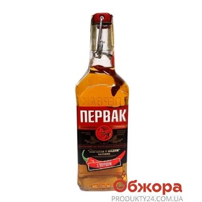 Водка Первак настойка перцовая с медом 0,5л – ИМ «Обжора»