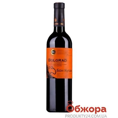 Вино Болград (Bolgrad) Бон Купаж белое п/сл. 0,75 л – ИМ «Обжора»