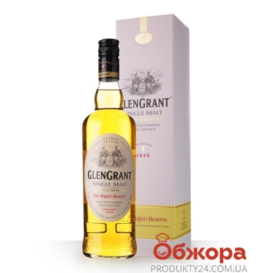 Виски Глен грант (Glen Grant) Major*s Reserve 0,7л. – ИМ «Обжора»