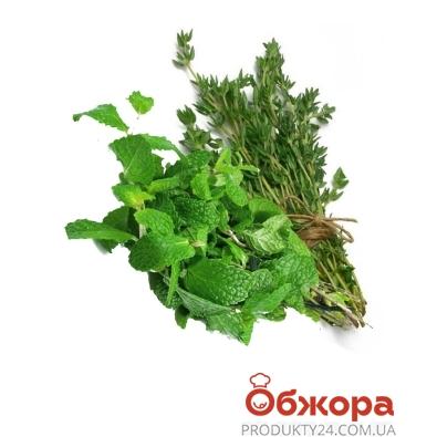 Салат Микс (Мята+Тимьян) 40 гр. – ИМ «Обжора»