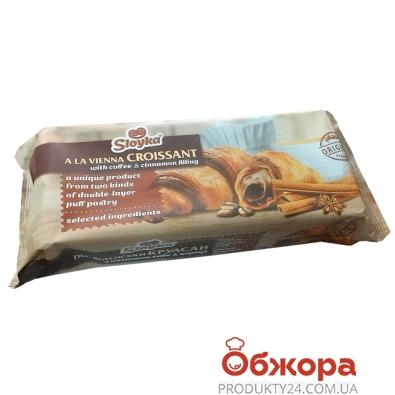 Круасаны Слойка (Sloyka) 180г венские кофе корица – ИМ «Обжора»