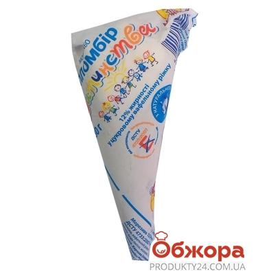 Мороженое Мушкетер Пломбир детства ванильный 80 г – ИМ «Обжора»