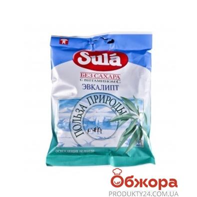 Конфеты Сула 60г Эвкалипт с витаминС – ИМ «Обжора»