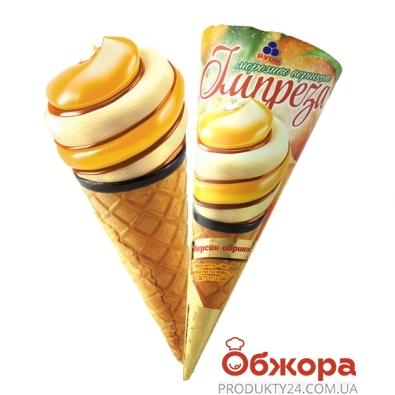 Мороженое Рудь Рожок Импреза персик-абрикос 100 г – ИМ «Обжора»