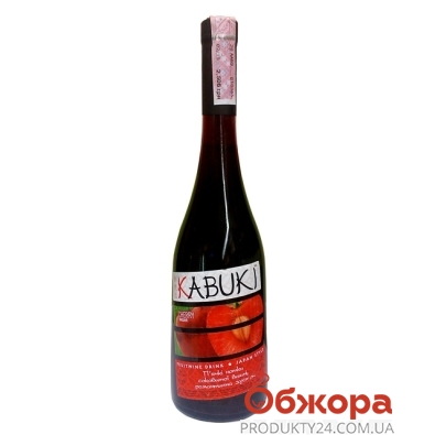 Вино Кабуки (KABUKI) вишня красвная 0,75 л – ИМ «Обжора»