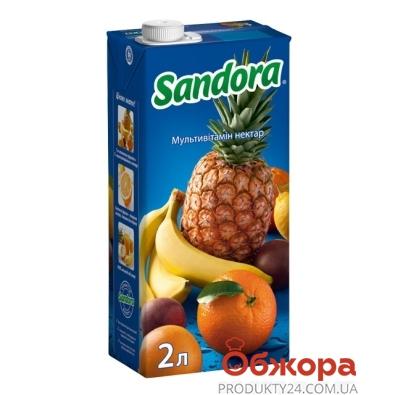 Сок Сандора (Sandora) мультивитамин 2 л – ИМ «Обжора»