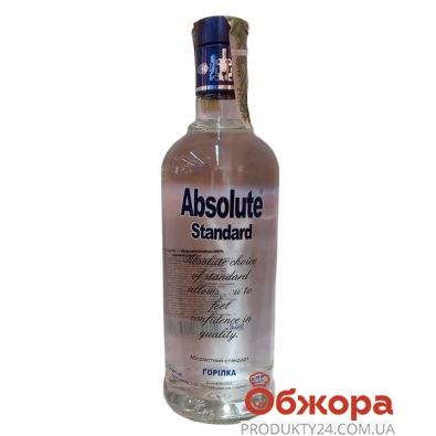 Водка Абсолют стандарт (ЛЛВЗ) 0,75 л – ИМ «Обжора»