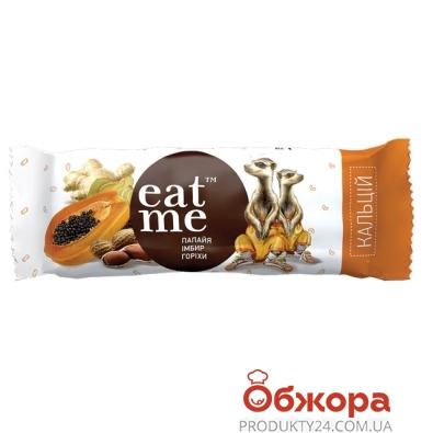 Батончик EatMe папая имбирь орехи в йогурте 30 г – ИМ «Обжора»