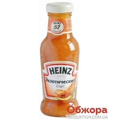 Соус Хайнц (Heinz) 250г экзотический ст/б – ИМ «Обжора»