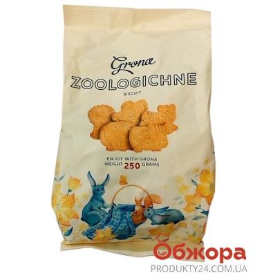 Печенье Грона зоологическое 250 г – ИМ «Обжора»