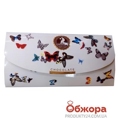 Шоколад Шоудье молочный Клатч с изюмом 80 г – ИМ «Обжора»