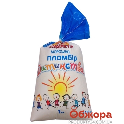 Мороженое Мушкетер Пломбир детства 1кг – ИМ «Обжора»