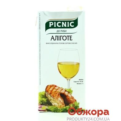 Вино Пикник (Picnic) белое сухое 1 л – ИМ «Обжора»