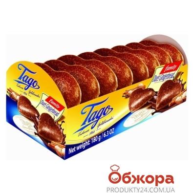 Пряники Таго (Tago) имбирные шоколадная глазурь 180 г – ИМ «Обжора»
