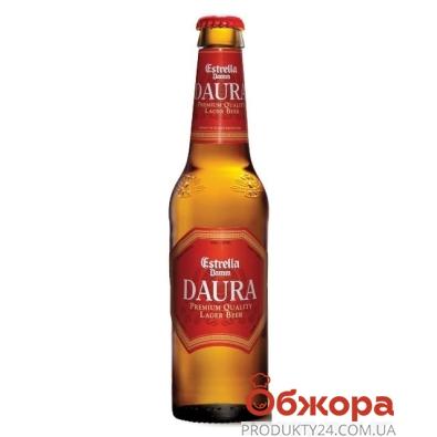 Пиво Эстрелла (Estrella) Даура 0,33 л – ИМ «Обжора»
