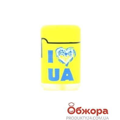 """Зажигалка Зенга (Zenga) ZL-3 """"I LOVE UA"""" – ИМ «Обжора»"""