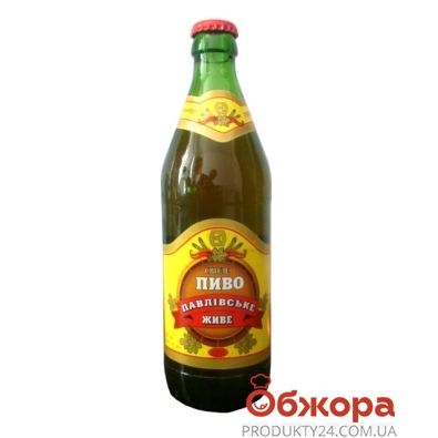 Пиво Павловское ЖИВОЕ 0,5 л. – ИМ «Обжора»