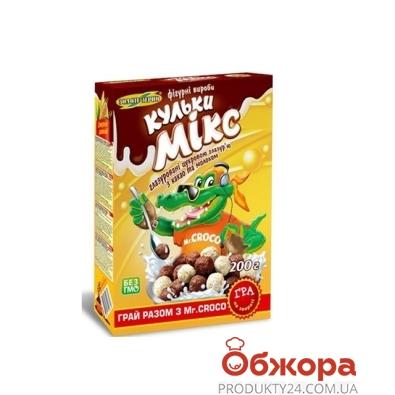 Кукурузные шарики Золотое Зерно Забава шоколад 200 г – ИМ «Обжора»