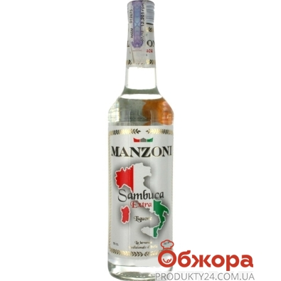 Самбука Манзони (Manzoni)  38% 0.75л – ИМ «Обжора»