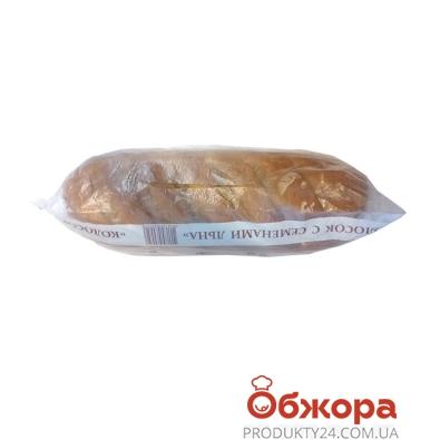 Хлеб Булкин Колосок с семенами льна в/с 500 г – ИМ «Обжора»