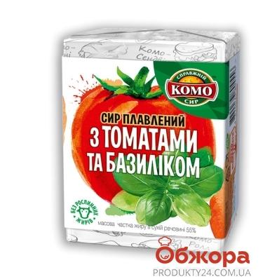 Сыр плавленый Комо с томатами 55% 90 г – ИМ «Обжора»