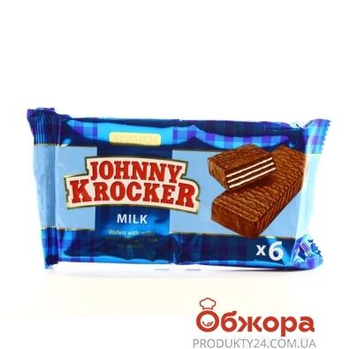 Вафли Рошен Джони крокер молоко 120 г – ИМ «Обжора»