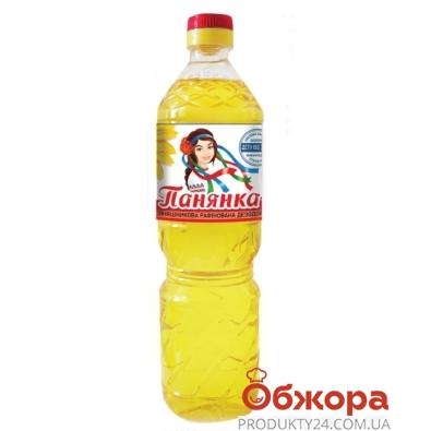 Подсолнечное масло Панянка рафинированное 0,8 л – ИМ «Обжора»