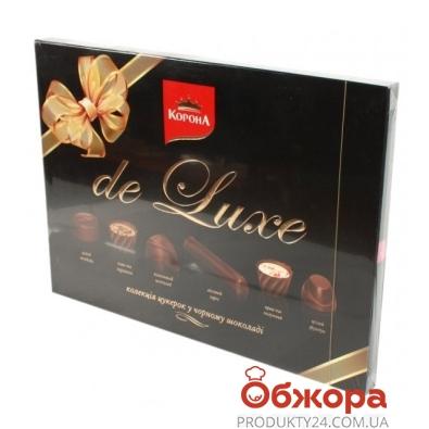 Конфеты Корона де люкс черный шоколад 146 г – ИМ «Обжора»