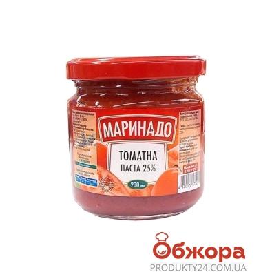 Конс.Маринадо 200г томатная паста – ИМ «Обжора»