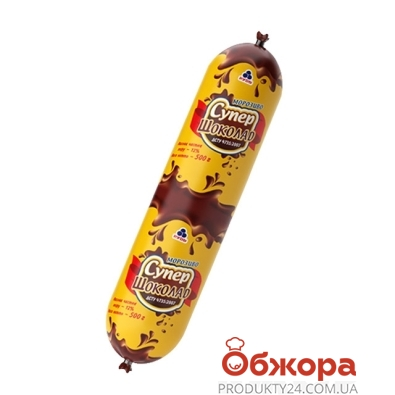 Мороженое Рудь Супер-шоколадное 500г – ИМ «Обжора»