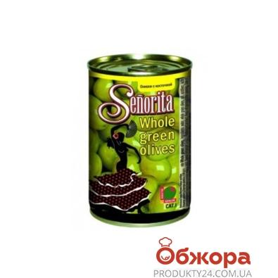 Оливки Сеньорита (Senorita) 280 г з/к – ИМ «Обжора»
