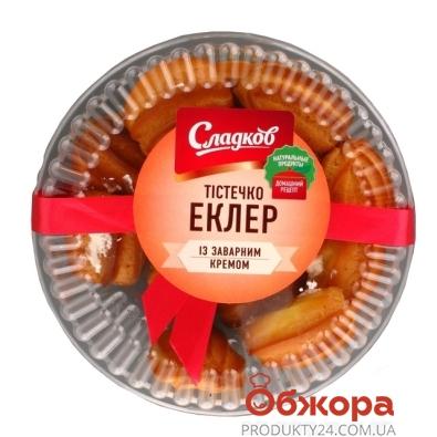 Пирожное Сладков Эклер с заварным кремом 250 г – ИМ «Обжора»