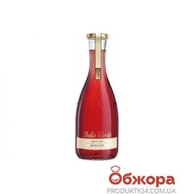 Вино Белла Тавола (Bella Tavola) Rosato Secco розовое сухое 1,0 л – ИМ «Обжора»