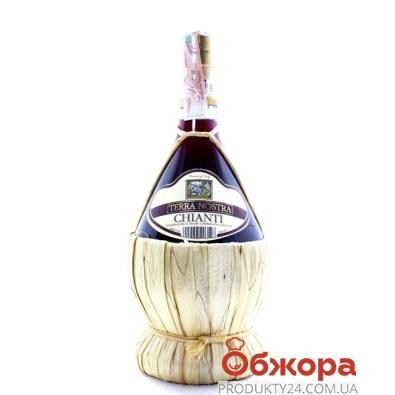 Вино Терра Ностра (Terra Nostra) Кьянти DOCG красное сухое 0,75 л – ИМ «Обжора»