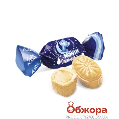 Конфеты Конти кар сливочная вес. – ИМ «Обжора»
