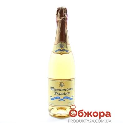 Шампанское Кристальное Одесса Украины п/сл. 0.75 л – ИМ «Обжора»